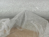 "Glitter Tulle Fabric 54"" x 10 Yard Color Silve Wedding Craft Net"