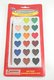 LOT OF 144 HEART SHAPED WATERCOLOR PAINT-18 PAINTS W/BRUSH