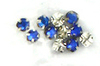 Wholesale Lot of 288 pc Sapphire Sew-on Rhinestones