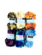 96 Skein of Feather Yarn 6 Assorted Color Wholesale Lot