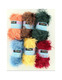 Knitting Fur Yarn 96 balls Assorted Color Wholesale Lot